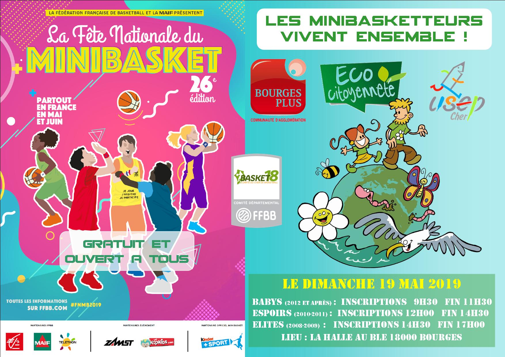 Fête nationale du minibasket 2019