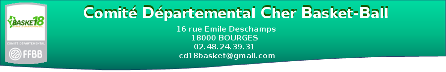Comité Départemental Cher Basket-Ball